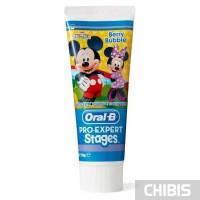 Зубная паста для детей Oral-B Stages Berry Bubble Ягодный взрыв 75мл