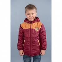Куртка демисезонная Модный Карапуз Спорт,  цвет бордо