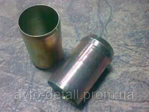 Трубка блока тосольная (металл) Lanos 1,5 Aveo Lac KAP (Корея)