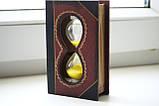 """Песочные часы """"книга"""",13 см (90секунд), фото 2"""