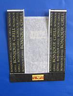 Пакет бумажный с окошком 150мм*50мм*190мм, фото 1