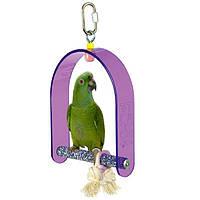 Качеля для крупного попугая + пенза., фото 1
