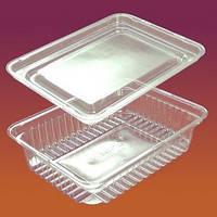 Упаковка 1000 для салатов, кулинарии 1кг(1000мл)100шт  ПЕТ
