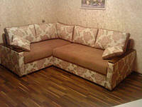 Ремонт угловых диванов. Обивка, перетяжка, фото 1