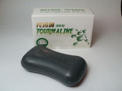 Натуральное косметическое турмалиновое мыло (100 гр.)