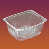 Упаковка для салатов кулинарии  2244 с крышкой 2242/500мл/ 100 шт.