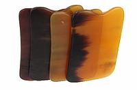 Скребок Гуаша из рога буйвола пластина для выскребания болезней, фото 1