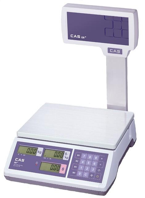 Весы торговые CAS ER JR CBU (RS-232)