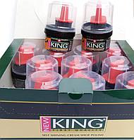 Крем черный для обуви Кинг KING
