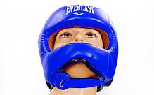 Шлем боксерский с бампером FLEX EVERLAST BO-5340-B , фото 2