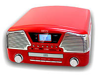 Ретро проигрыватель с CD/MP3/USB/SD/записи Camry CR 1134r