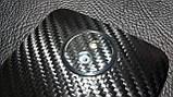 """Декоративна захисна плівка для HTC Desire 609D """"карбон чорний"""", фото 2"""