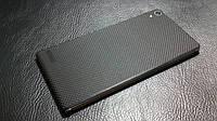"Декоративная защитная пленка для Huawei P6 ""микрокарбон черный"", фото 1"