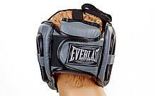 Шлем боксерский с бампером FLEX EVERLAST BO-5340-BK, фото 3