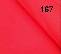 Бязь однотонного, яркого красного цвета. Польша