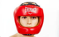 Шлем боксерский с бампером FLEX EVERLAST BO-5340-R, фото 2