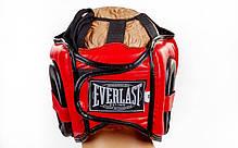 Шлем боксерский с бампером FLEX EVERLAST BO-5340-R, фото 3