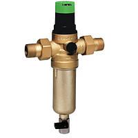 Самопромывной фильтр для горячей воды  Honeywell FK06F 1AAM   с регулятором давления