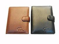 Бумажник Canevo 8119-302В мужской коричневый из кожвинила
