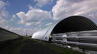 Бескаркасные ангары, зернохранилища, склады