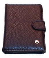 Бумажник Canevo 8119-302В-2 мужской коричневый из кожвинила размер 15х10,5 см