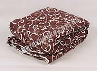 Полуторное одеяло бязь/шерсть 011