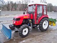 Трактор с коммунальным оборудованием на базе ДонгФенг-404