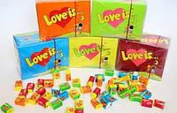 "Жевательная резинка ""love is..."", конфеты"