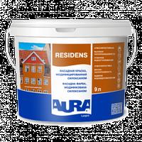 Фасадная краска Aura Luxpro Fasad Residens 2.7л TR (B-3) – Фасадная Краска, Модифицированная Силоксаном.