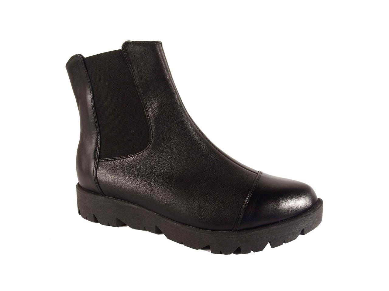 Ботинки женские демисезонные кожаные  МИДА 22129