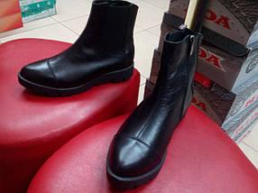 Ботинки женские демисезонные кожаные  МИДА 22129, фото 3
