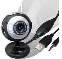 USB вебкамера камера с микрофоном и подсветкой