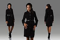 Кашемировое классическое пальто для деловых женщин