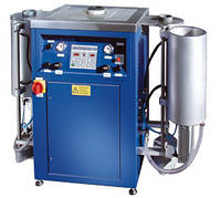 Индукционная плавильная печь INDUTHERM MU- 400-VV с двумя вакуумными камерами