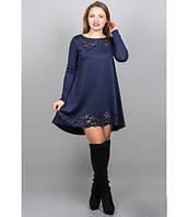 Женское платья Лучия цвет синий размер 46-52