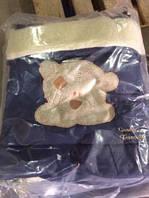 Детский конверт трансформер Qvatro синий