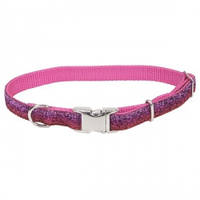 Coastal Pet Attire Sparkles ошейник для собак, 1смХ20-30см, розовый