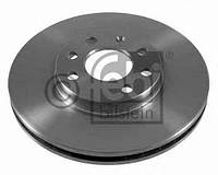 Диск тормозной передний (trw, диск на 4 шпильки)  ABE C3X031ABE; ZIMMERMANN 430149020 на Opel Combo, Meriva