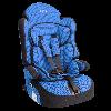 """Детское авт. кресло SIGER """"Прайм Изофикс""""-12 лет, 9-36 кг, группа 1,2,3 (красный,серый,синий)"""
