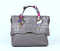Лиловая женская сумка в офис,уценка, фото 1