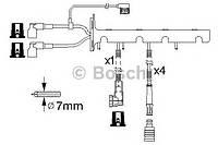 Провода высоковольтные, комплект (с защитой от грызунов)  JANMOR HR2, HR3; BERU ZEF607 на BMW E30