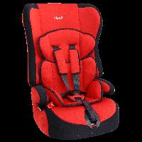 """Детское авт. кресло SIGER """"Прайм"""" 9 мес.-12 лет, 9-36 кг, группа 1,2,3 (красный,серый,синий)"""