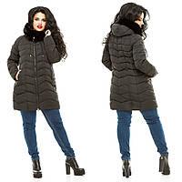 Куртка зимняя батал ЖА-859