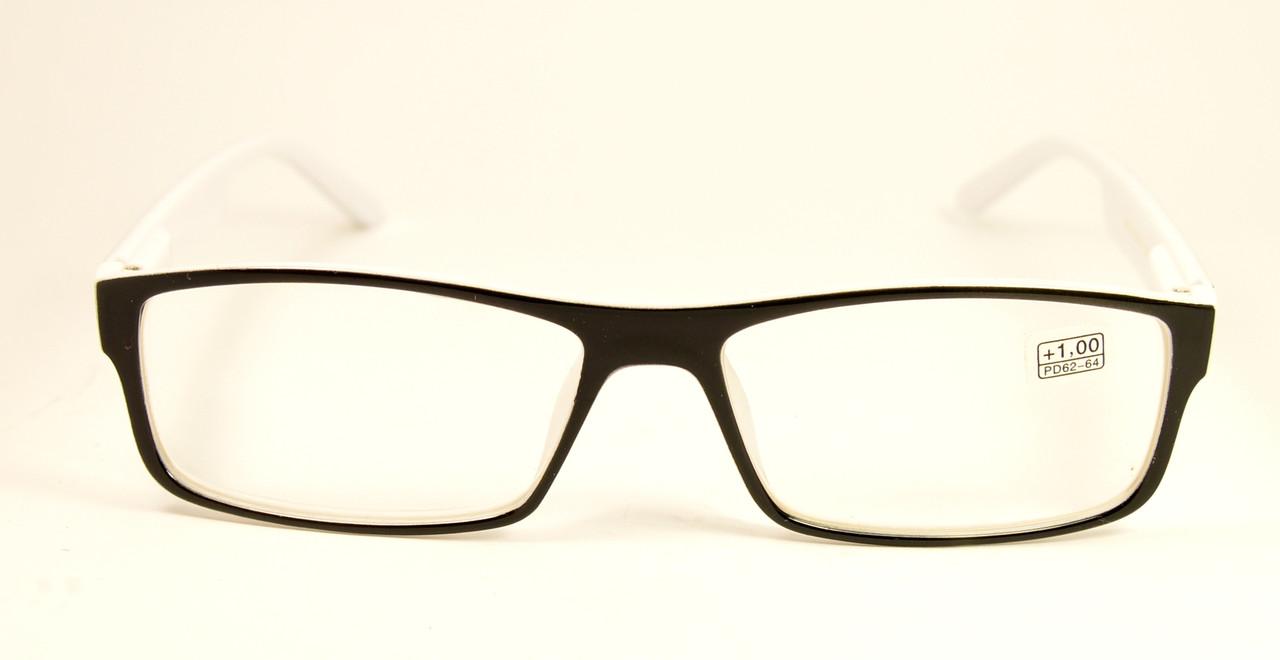 Очки готовые черно-белые (218 ч-б)