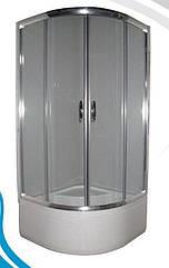 Душова кабіна Devit Nymfa FEN311PDEV (90х90х210 см) з піддоном 40 см