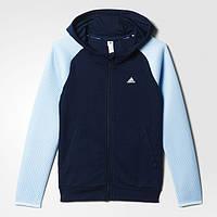 Детская толстовка для девочек Adidas Spacer Mesh (Артикул: AY5369)