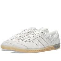 Оригинальные  кроссовки  Adidas Hamburg Tech White & Silver Metallic