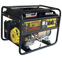 Бензиновый генератор Huter DY5000LX с электростартером