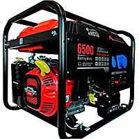 Бензиновый генератор е. Нot LC6500D-AS с электростартером