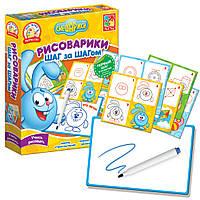 Набор для творчества Рисоварики. Шаг за Шагом Крош VT4502-02